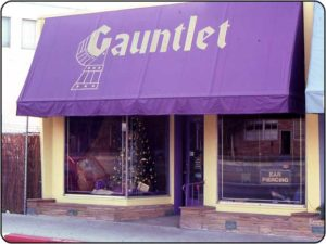 Gauntlet's original storefront