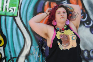 Stephanie C. Kernisan photographed for Infinite Body Piercing