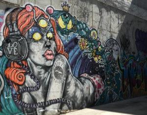 Graffiti off of 4th Street in Philadelphia